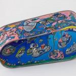 Baignoire - Acrylique sur zinc - 90 x 30 cm - 2000