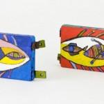 Barque de joute - Acrylique sur bois - 40 x 38 cm - 2002