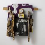Caméra œil robotique - Acrylique sur bois - 34 x 38 cm - 1986
