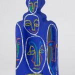 Petit billot - Acrylique sur bois - 24 x 56 cm - 2002