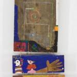 Sans titre - Peinture sur bois - 49 x 113 cm - 1973