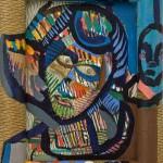 Visages d'Arlequin - 17 x 22 cm- 1989