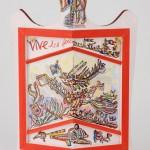 Vive les joutes - Acrylique sur pavois - 49 x 76 cm - 1983